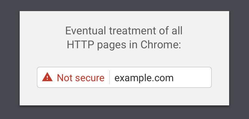 google güvenli değil uyarısı
