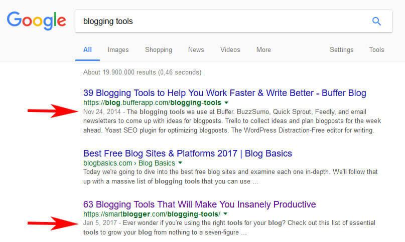 google güncel içerik