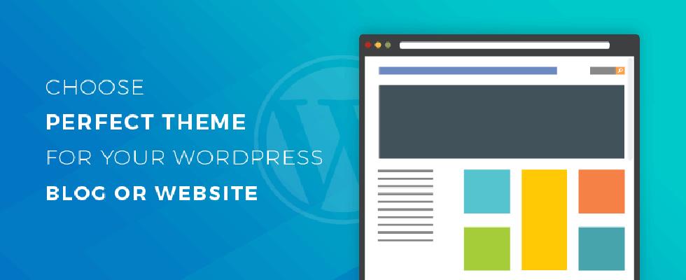 wordpress sitesi için tema seçme